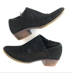 """LUCKY BRAND  """"Baylah"""" Suede Perforated Booties"""
